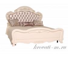 Кровать Милано 8802-С (ЭкоКожа с кристаллами)