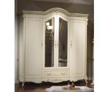 Шкаф 4-дверный с зеркалом Милано 8803-B