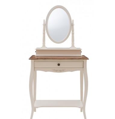 Туалетный столик с зеркалом (овал)