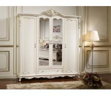 Шкаф 4-дверный с зеркалами