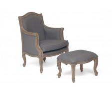 Кресло Secret De Maison Marie серый