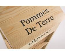 Тумба Secret De Maison «Legumes» (Легюм) PE-09 с 3-мя корзинами и ящиком