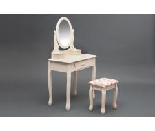Туалетный столик с зеркалом и табуретом Secret De Maison «Coiffeuse» HX15-075