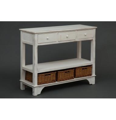 Комод с 3 корзинами и 3 ящиками Secret De Maison «Oiselet 6» (HX16-005NS) (Белый)