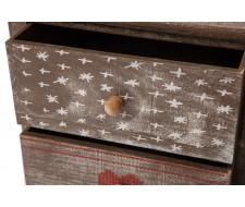 Тумба с 5 ящиками Secret De Maison «Christmas 5» (HX16-011NS) (Brown antique)