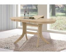 Стол обеденный 2063 (Дуб антик белый)