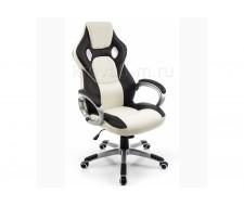 Кресло компьютерное  Navara кремовое / черное
