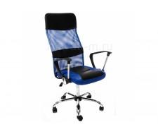Кресло компьютерное  Arano синее