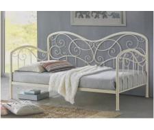 Кровать Inga 90 х 200 см glossy ivory