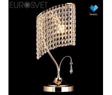 Настольные лампы Хрустальная настольная лампа 3122/1 золото Strotskis  настольная лампа