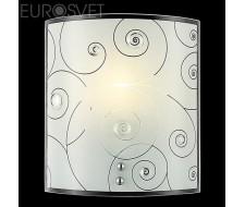 Настенные светильники Настенный светильник 3745/1 хром