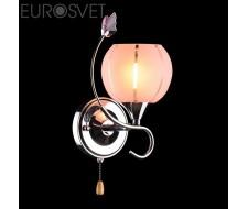 Настенные светильники Бра 3457/1 хром/розовый