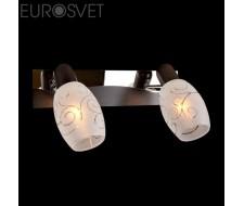 Настенные светильники Спот 60301/2 хром/венге