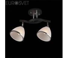 Потолочные и подвесные светильники Потолочный светильник 9612/2 хром/венге