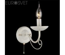 Настенные светильники Настенный светильник 22404/1 белый с золотом