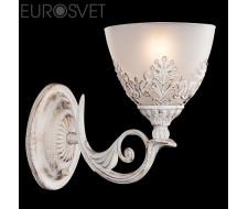Настенные светильники Бра 60010/1 белый с золотом