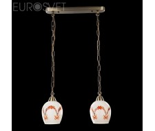 Потолочные и подвесные светильники Подвесной светильник 50030/2 античная бронза