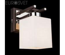 Настенные светильники Бра 70018/1 хром/венге