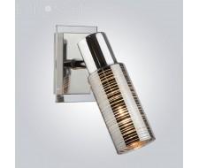 Настенные светильники Спот 20035/1 хром