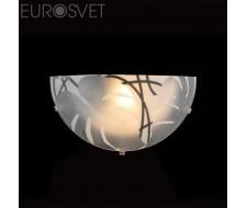 Настенные светильники Настенный светильник 40066/1 хром