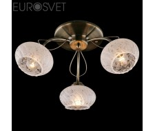 Потолочные и подвесные светильники Люстра 30047/3 античная бронза