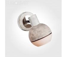 Настенные светильники Спот 20037/1 хром/серый
