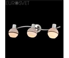 Настенные светильники Спот 20037/3 хром/серый