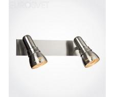 Настенные светильники Спот 20022/2 сатин-никель