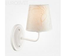 Настенные светильники  60025/1 белый с серебром