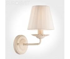Настенные светильники  60026/1 бежевый с золотом