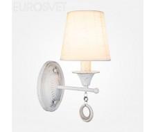 Настенные светильники Бра 60028/1 белый с золотом