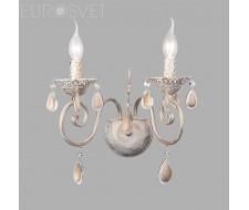 Настенные светильники Настенный светильник 10009/2 белый с золотом