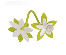 Потолочные и подвесные светильники Настенный светильник 6897 Flowers Green I