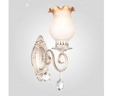 Настенные светильники Бра 60009/1 белый с золотом