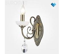 Настенные светильники Бра 60055/1 античная бронза
