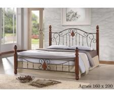 Кровать Агнес (Agnes 160х200) Темный орех