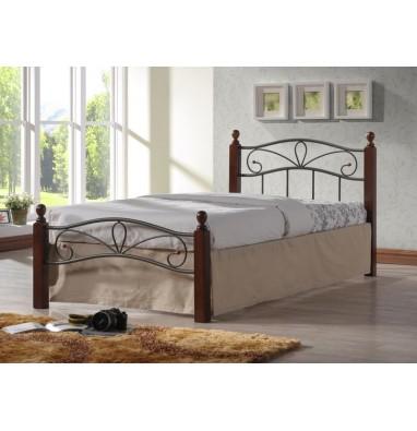 Кровать Глэдис М (90х200) (черный)