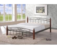 Кровать Селин (Selin-160х200) Темный орех