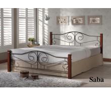 Кровать Саба (Saba-160х200) Темный орех