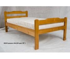 Кровать Хвоя золотисто-желтый 90