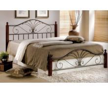 Кровать Равенна (Mara-160х200) Темный орех