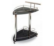 Сервировочный столик на колесиках SC 5068-BG