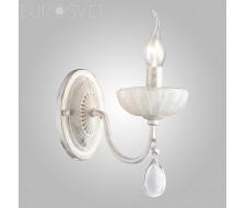 Настенные светильники Люстра 60048/1 белый с золотом
