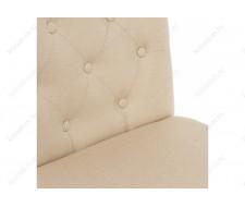 Стул деревянный Amelia white / fabric cream