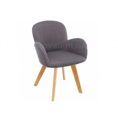 Стул деревянный Стул Asia wooden legs / grey fabric