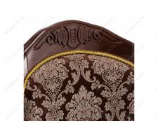 Стул деревянный Лауро орех / шоколад