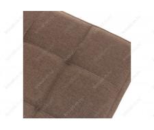 Стул деревянный Madina dark walnut / fabric brown