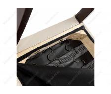 Стул деревянный Menson dark walnut  / fabric cream