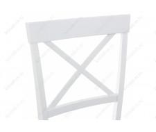 Стул деревянный Стул Shem white / light grey