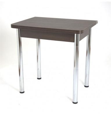 Стол обеденный ЛС-831 (Матрикс L321/царги Венег/ноги Хром)